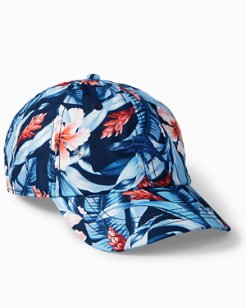 Hibiscus Floral Cap