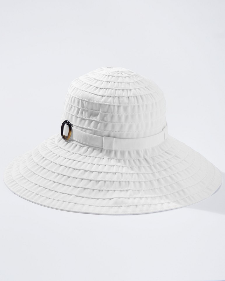 Main Image for Large Brim Ribbon Hat
