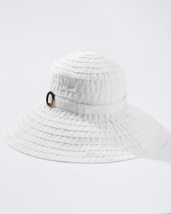 Large Brim Ribbon Hat