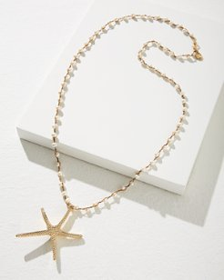 Starfish Pendant Necklace