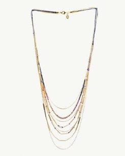 Bon Voyage Multi-Strand Necklace