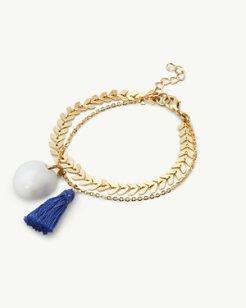 Tassel Shell Bracelet