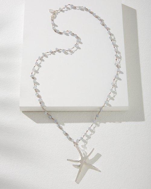 Starfish Treasure Pendant Necklace