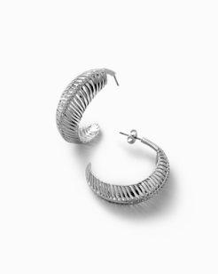 Swarovski® Crystal Palm Frond Earrings