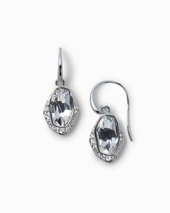 Swarovski® Crystal Pavé Drop Earrings