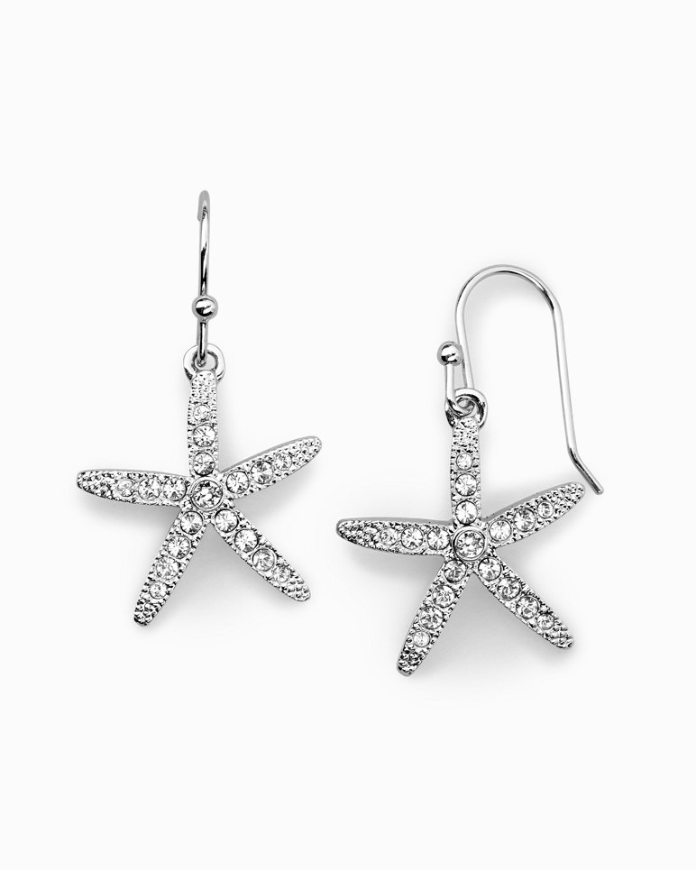 Main Image for Starfish Earrings With Swarovski® Crystals
