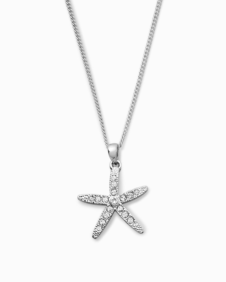 Main Image for Starfish Necklace With Swarovski® Crystals