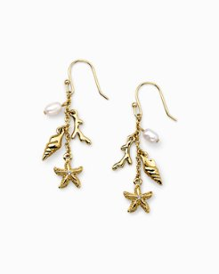 Swarovski® Crystal Sealife Cluster Earrings
