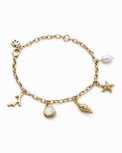 Swarovski® Crystal Sealife Charm Bracelet