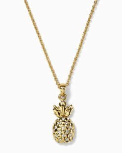 Swarovski® Crystal Pineapple Necklace