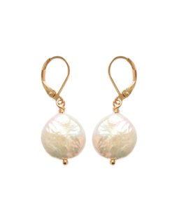 Pearl Lever Earrings