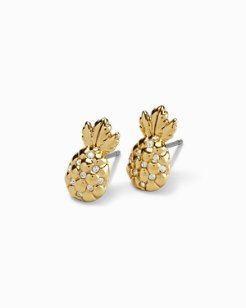 Swarovski® Crystal Pineapple Earrings
