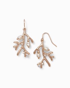 Coral Branch Earrings