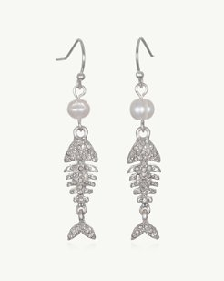 Pearls Of Fish Earrings