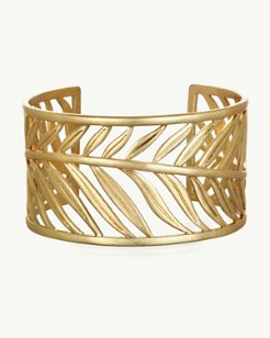 Golden Feather Cuff