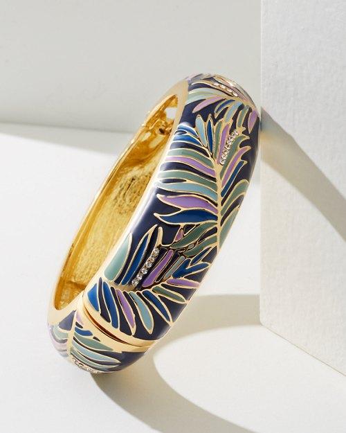 Colorful Fronds Bracelet