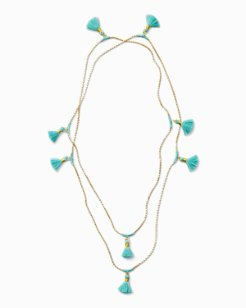 Tropic Tassel Necklace