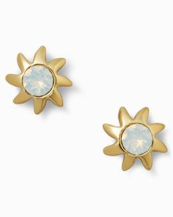 Swarovski® Crystal Sun Earrings