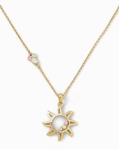 Swarovski® Crystal Sun Necklace