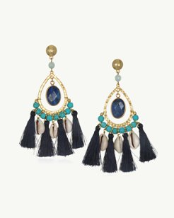 South Isle Tassel Earrings