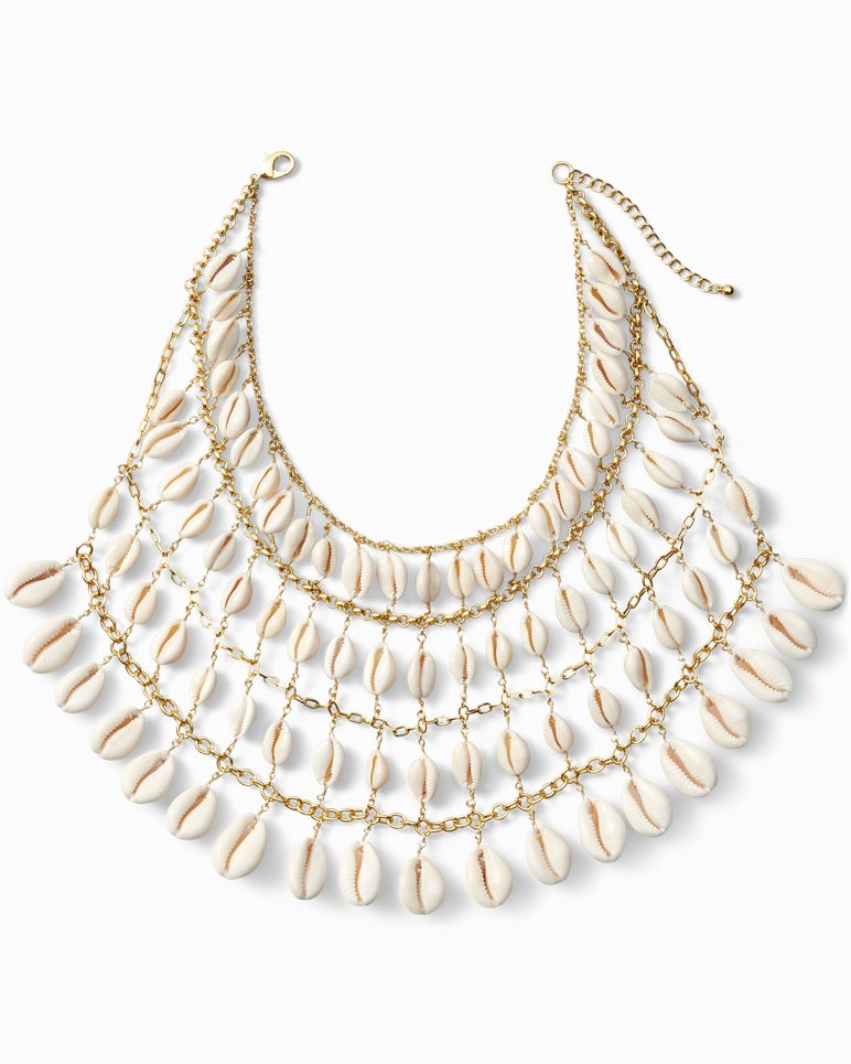 Main Image for Natural Cowrie Statement Necklace