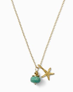 Gold-Plated Starfish Necklace