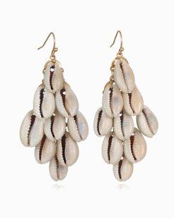 Cascata Cowrie Shell Earrings