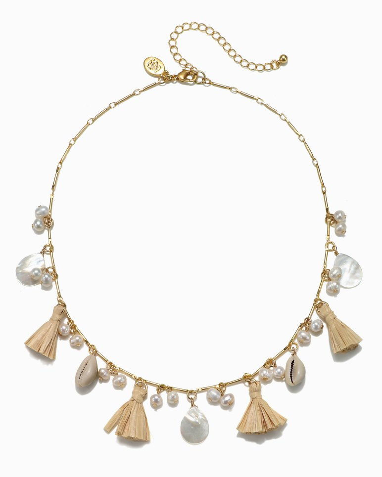Main Image for Madreperla & Tassel Necklace