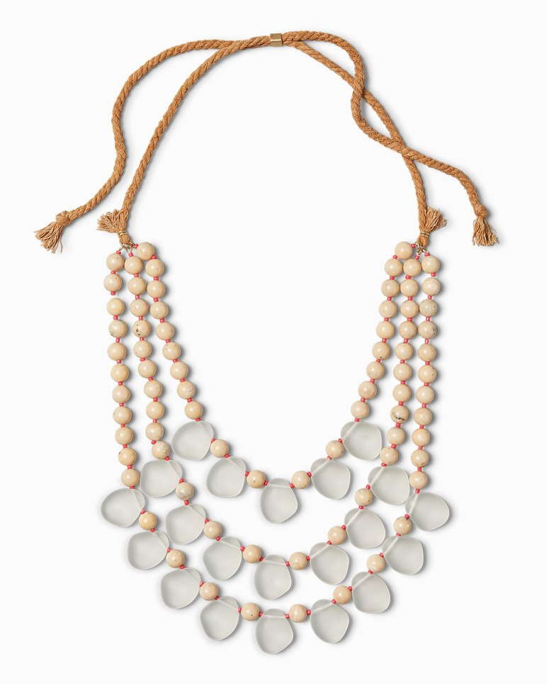 Main Image for Khaki Sands Beaded Necklace