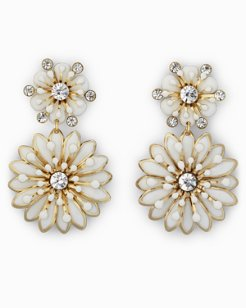 Flora Enamel Earrings