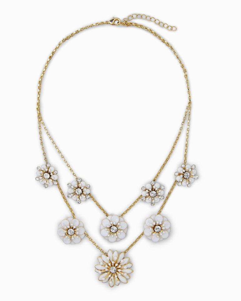 Main Image for Flora Enamel Statement Necklace