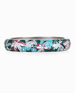 Lotus Dance Enamel Bracelet