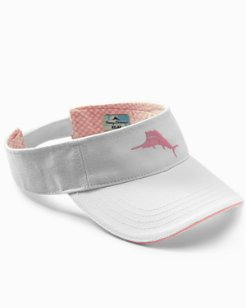 Lady Gingham Marlin Visor