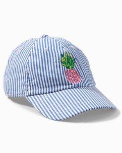 Stripe Pineapple Cap