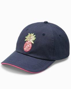 Sequin Pineapple Cap