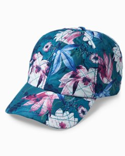 Lotus Dance Quilted Cap