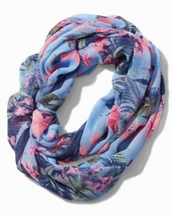 Madeira Blooms Infinity Scarf