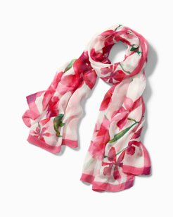 Floral Fade Oblong Scarf