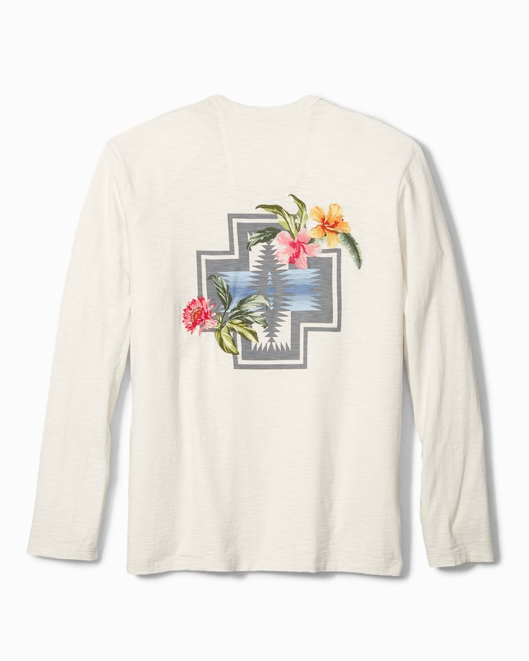 8add351f Main Image for Tommy Bahama & Pendleton® Aloha Harding Long-Sleeve Lux T-