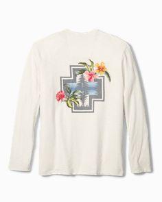 941f3b2c Tommy Bahama & Pendleton® Aloha Harding Long-Sleeve Lux T-Shirt