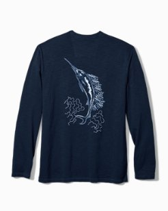 Shibori Marlin Lux Long-Sleeve T-Shirt