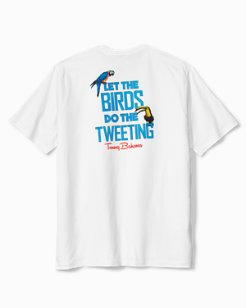 Birds Do The Tweeting T-Shirt