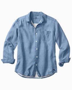 Sea Glass Breezer Linen Shirt