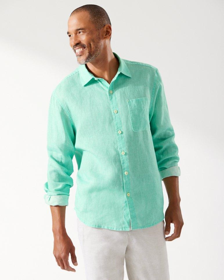 73f922da Main Image for Sea Glass Breezer Linen Shirt