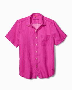 Sea Glass Breezer Linen Camp Shirt