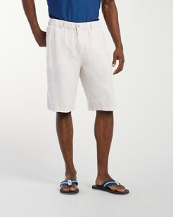 Linen Out Loud 11-inch Linen Shorts