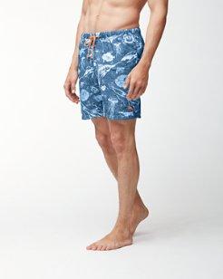Naples Marlin Party 6-Inch Swim Trunks