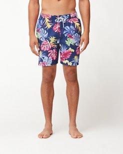 Naples Bogart Blooms 6-Inch Swim Trunks