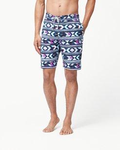 Baja Aloha Arrow 9-Inch Swim Trunks