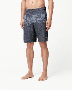 Cayman Ostro Stripe 9-Inch Swim Trunks